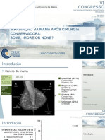 Irradiação da Mama após Cirurgia Conservadora