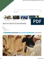 Jesus No Nacio El 25_12