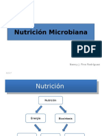 Nutrición Microbiana