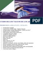 Curso Los 7 Rayos de Los Arcangeles