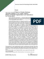 American Journal of Primatology Volume 69 issue 9 2007 [doi 10.1002%2Fajp.20420] Jurgi Cristóbal-Azkarate; Víctor Arroyo-Rodríguez -- Diet and activity pattern of howler monkeys (Alouatta palliata) in.pdf