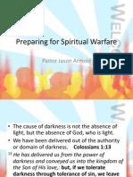 Preparing for Spiritual Warfare