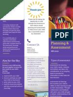 planning   assessment brochure