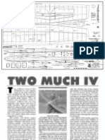 Two Much IV Plan and Article