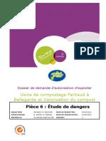 Pièce 6 Etude Des Dangers FERTISUD