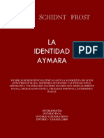 La Identidad Aymara - Adler Schidnt Frost - 2018