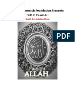 Faith in the Allah (English DVD Shaikh Dr.abdullah Al-Farsi)