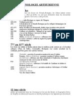 Chronologie arthurienne.doc
