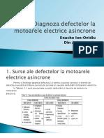 Diagnoza Defectelor La Motoarele Electrice Asincrone 2003