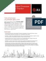 Global Premium Office Rent Tracker Q4 2016