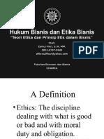 Hukum Bisnis Dan Etika Bisnis Akuntansi 1