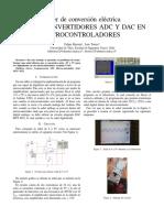Uso de convertidores ADC y DAC en microcontroladores