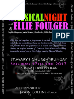 A Musical Night with Ellie Foulger