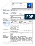 1. Personal Data Form Selnajaya