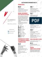 Boletin Filarmonico Junio 2017