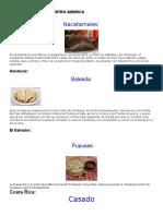 Informacion General de Centroamerica