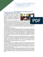 Coyhaique- Fiscalía Ejecuta Novedoso Proyecto Comunitario Con Almacenes de Población El Bosque y Villa Patagonia