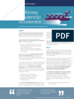 McKinsey Leadership Accelerator Brochure