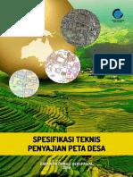 Spesifikasi Teknis Peta Desa