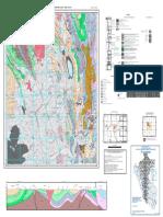 Mapa Geologico Del Cuadrangulo Cerro de Pasco Hoja 22K- IV