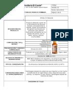 Ficha Técnica Whisky