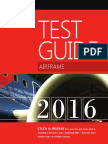 Aviation Airframe Test Guide 2016