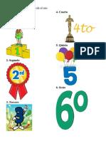 Los números ordinales, partes de la casa, dias de la semana, meses y estaciones del año 03 10 16.docx