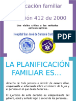 Diapositivas Planificacion Familiar