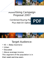 Advertising Campaign Proposal 2007