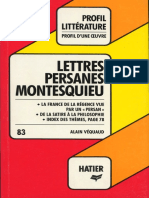 Véquaud, Alain - Les Lettres persanes de Montesquieu