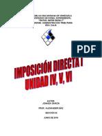 TRABAJO Unermb Unidad IV, V, VI