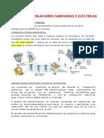 Principales Instalaciones Sanitarias y Eléctricas