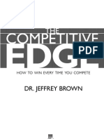 Competitive Edge by Dr. Jeffrey Brown - Chapter1
