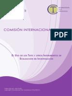 Comision Internacional de Test 2014