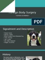 foreign body surgery presentation