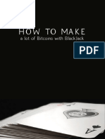 How to make a lot of bitcoins with BlackJack