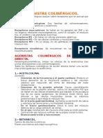 AGONISTAS COLINÉRGICOS.docx