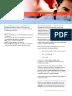 Data Sheets Axapta Financials