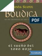 El Sueno Del Toro Rojo - Manda Scott