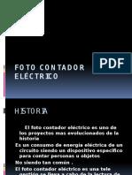 Foto Contador Eléctrico