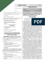 Decreto Supremo Que Prorroga El Estado de Emergencia en Los Decreto Supremo n 052 2017 Pcm 1521986 2