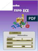 Prueba Tipo Ece Matematica 2