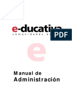 E-Ducativa Manual Admin is Trac Ion