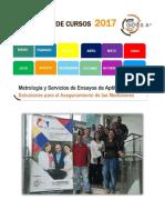 Catalogo de Capacitación Mysa 2017