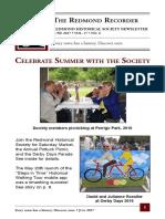 RHS Newsletter June 2017