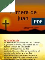 Primera de Juan
