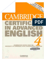 CAMBRIDGE CERTIFICATE IN ADVANCE ENGLISH 4. EXAMINATION PAPERS.pdf
