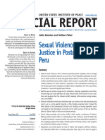BOESTEN Jelke and FISHER Melissa Sexual Violence and Postconflict in Peru