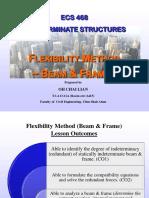 ECS468 Introduction to Flexibility-Beam & Frame