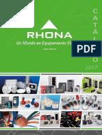 Catálogo Rhona 2017